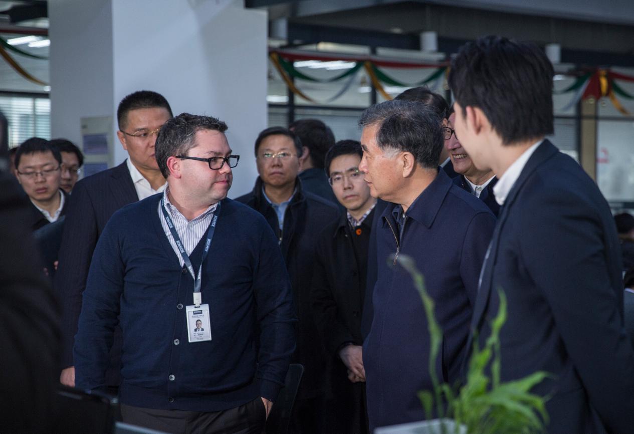 副总理汪洋及政府领导