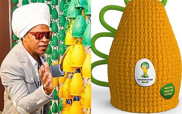 """巴西世界杯官方加油工具""""卡塞罗拉"""""""