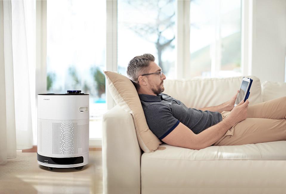 科沃斯沁寶凈化機器人:移動凈化 更懂你的家