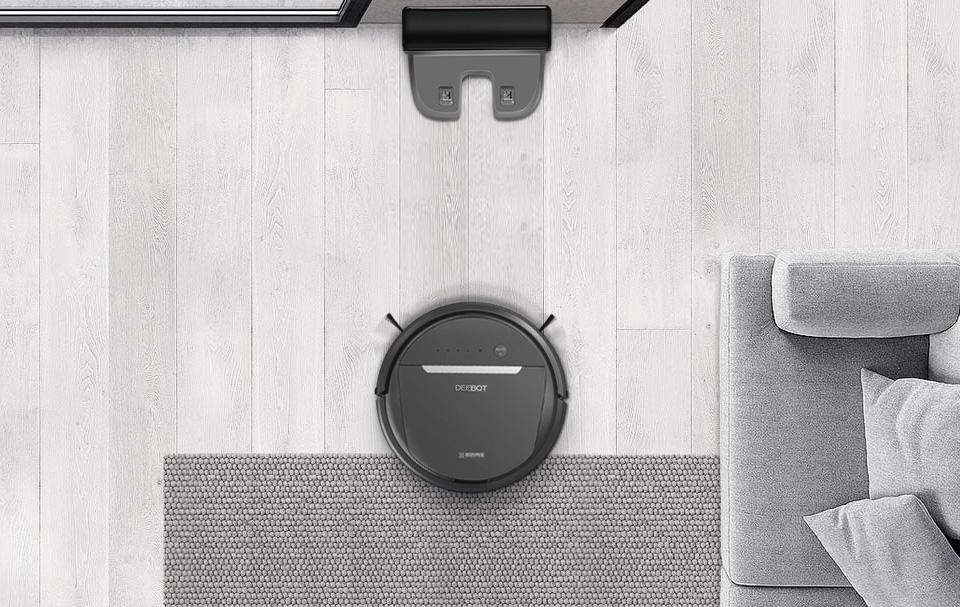 扫地机器人,光洁如新的家,静候你回家