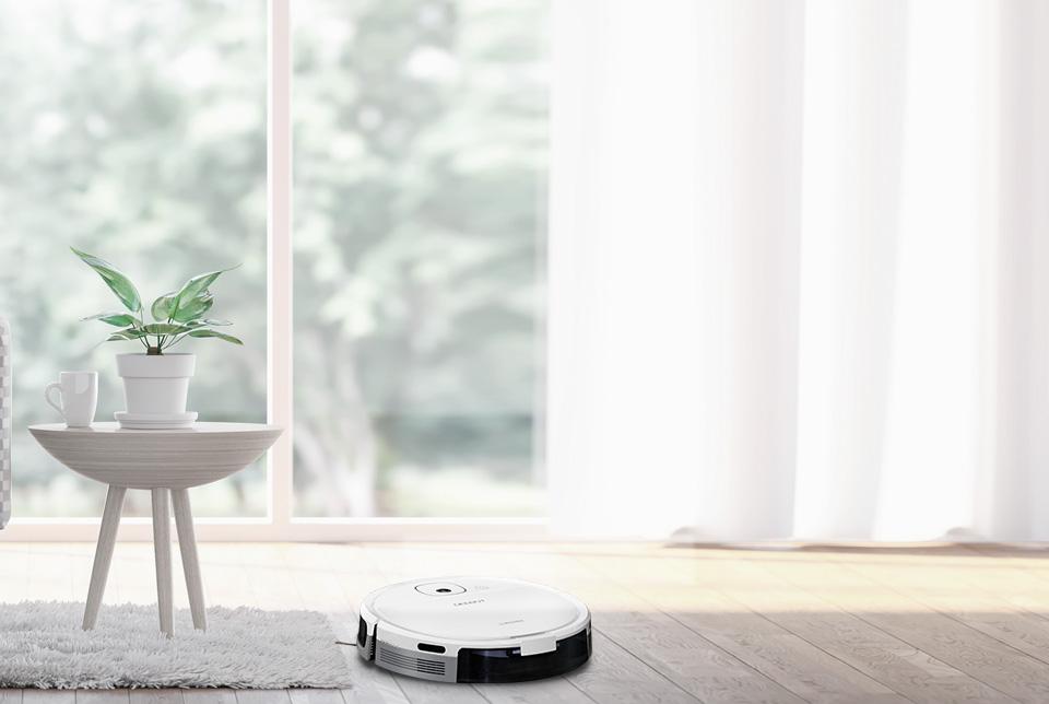 扫地机器人,一键开启美好的一天