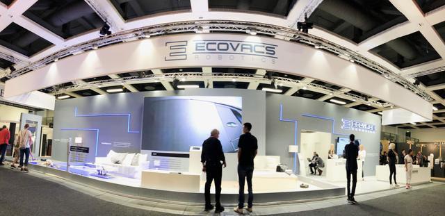 科沃斯携新技术AIVI亮相2018德国IFA展