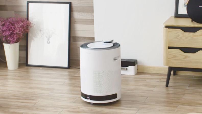 智能除醛除霾移动空气净化机器人A660